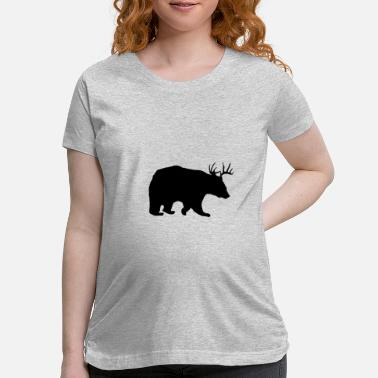 Deer or Bear 2 - Maternity T-Shirt