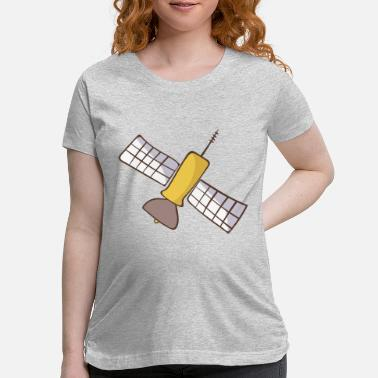 Satellite satellite - Maternity T-Shirt