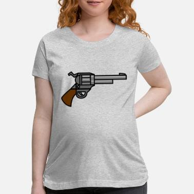 Gun Fair gun - Maternity T-Shirt