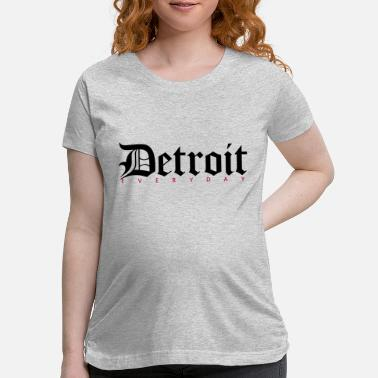 Detroit Vs Everybody Detroit - Maternity T-Shirt
