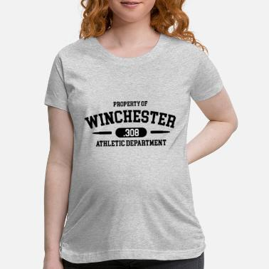 Shooting Club Property of Winchester .308 Athletic Department - Maternity T-Shirt