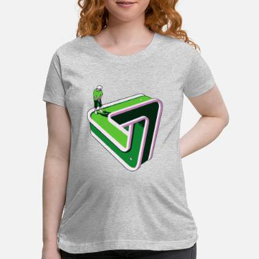 Putter Puzzled Putter - Maternity T-Shirt