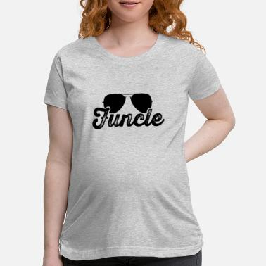 Uncle Gift Funcle Definition Funcle Funny Uncle Bi - Maternity T-Shirt