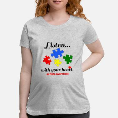Puzzle Inktastic Autism Awareness Youth Puzzle Pieces Tee - Maternity T-Shirt