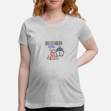 Excursion Cruise ship shore excursion professional - Maternity T-Shirt