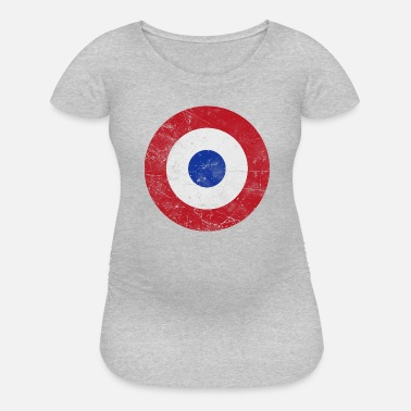 Resolution Paraguay Air Force Flag - Maternity T-Shirt