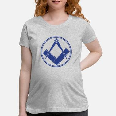 Cool freemasonry - Maternity T-Shirt