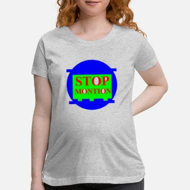 Motion stop motion - Maternity T-Shirt