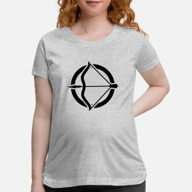 Bow And Arrow bow and arrow - Maternity T-Shirt