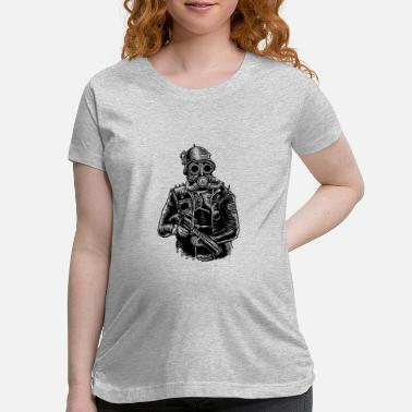Steampunk Steampunk Soldier - Maternity T-Shirt