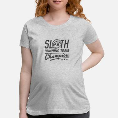 Shop Funny Sloth Running T Shirts Online Spreadshirt
