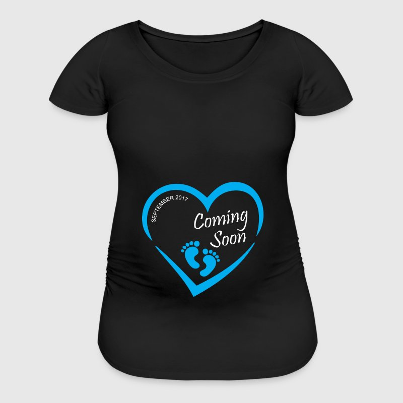 Baby coming soon - Women's Maternity T-Shirt