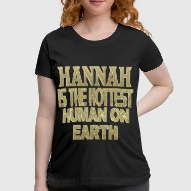 Hannah - Women's Maternity T-Shirt