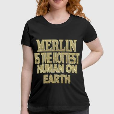 Merlin Merlin - Women's Maternity T-Shirt