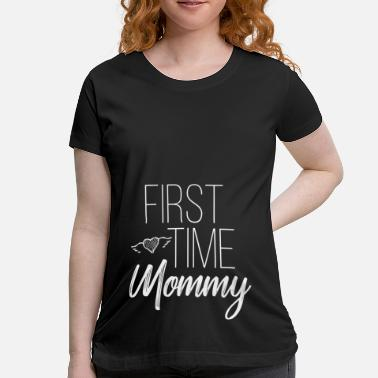Funny Maternity Pregnancy Pregnant Baby - Maternity T-Shirt