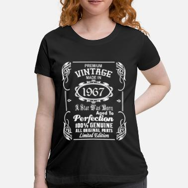 Funny Made In 1967 Vintage made in 1967 - Women's Maternity T-Shirt
