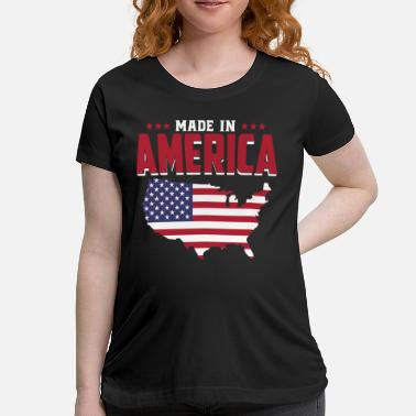 American Eagle Kids Football Made in America - USA - United States of America - Women's Maternity T-Shirt