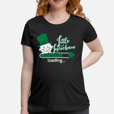 2f73a4007 Little Leprechaun loading St Patricks day Baby - Maternity T-Shirt