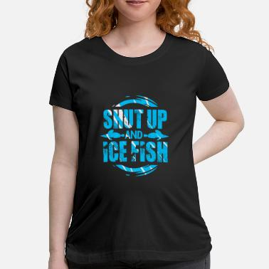 Fins Up Spearfishing - Maternity T-Shirt