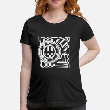 Graphic Abstract abstract graphic tattoo pattern - Women's Maternity T-Shirt