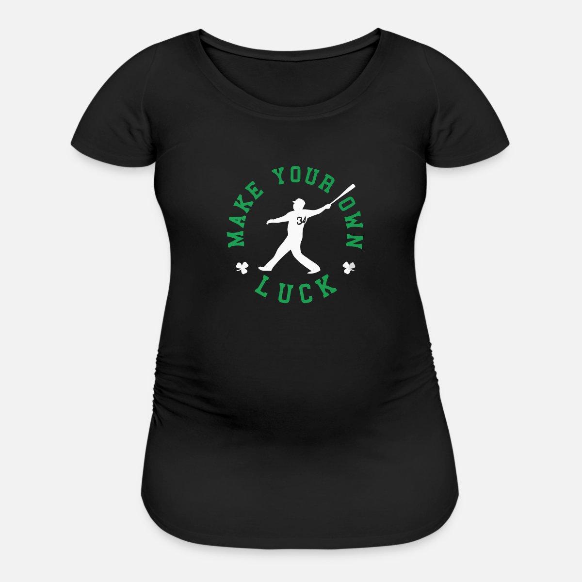 91061bef Make Your Own Luck - David Ortiz Children's Fund Maternity T-Shirt    Spreadshirt