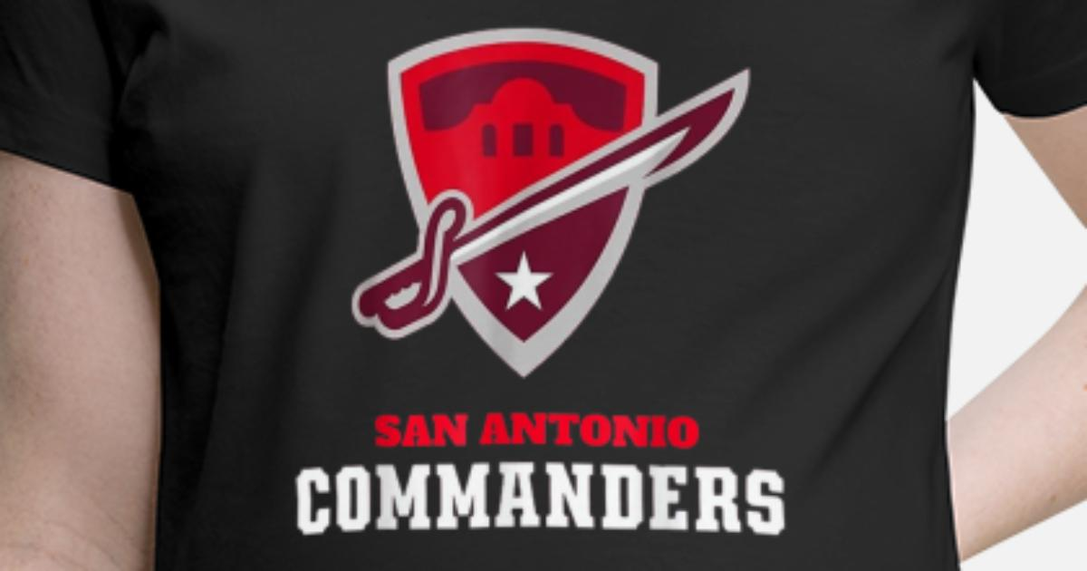 86dc947b72ee2 San-Antonio-Commanders-T-Shirt-Offical-Women-Men S Maternity T-Shirt |  Spreadshirt