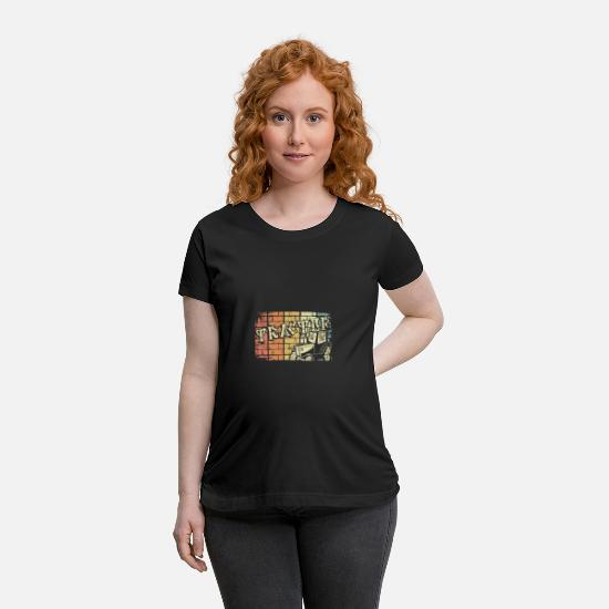 Gift Idea T-Shirts - Tractor - Maternity T-Shirt black