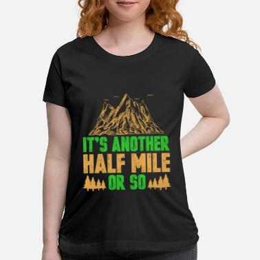 Carabiner Climbing Mountains Carabiner Hook Summit Gift - Maternity T-Shirt