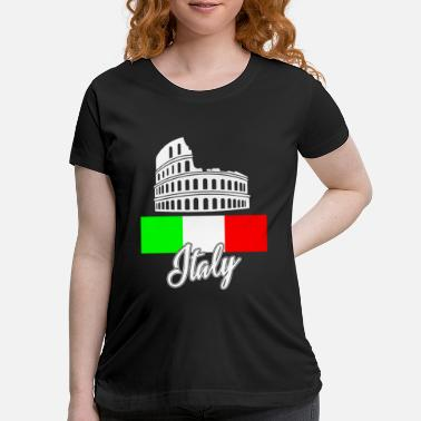 Florencia FLAG DAY Italy - Maternity T-Shirt