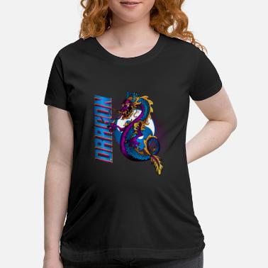 Mythology China Dragon - Maternity T-Shirt