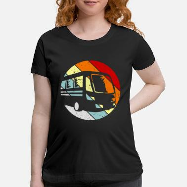 Us Bus Driver Gift Idea Funny Saying - Maternity T-Shirt