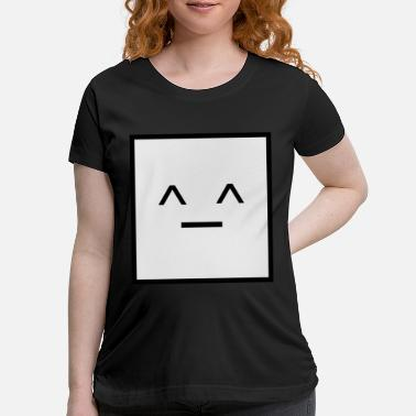Square Square, it is a Square- Geometric Square happy - Maternity T-Shirt