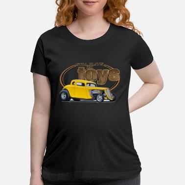 1933 Still Plays with Hot Rods - Maternity T-Shirt