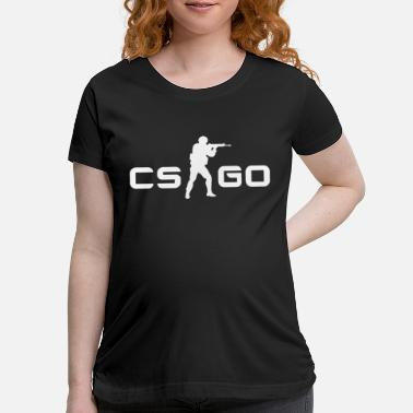 Counter Strike Counter Strike Style CS GO Gamers Brand CSGO - Maternity T-Shirt