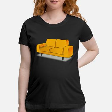 Sofa sofa - Maternity T-Shirt
