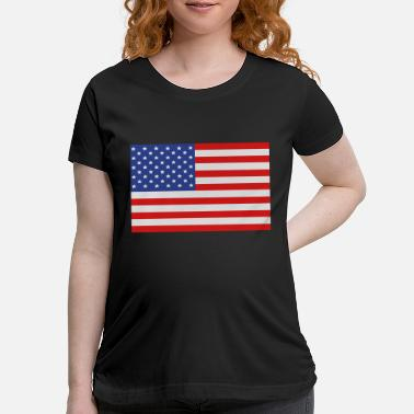 United United States of America Flag - Maternity T-Shirt