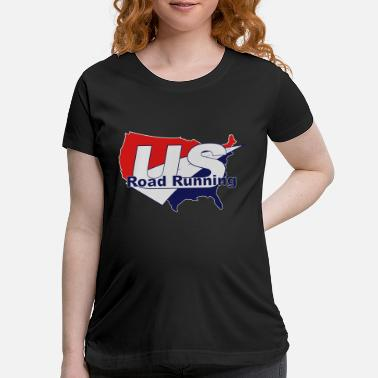 Road Running US Road Running Logo - Maternity T-Shirt
