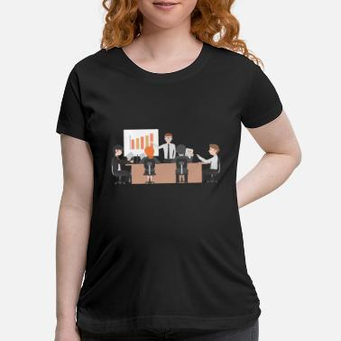 Bussi bussiness meeting - Maternity T-Shirt
