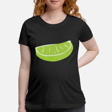 Wedge Lime Wedge - Maternity T-Shirt