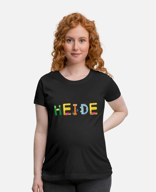 Heide Birth T-Shirts - Heide - Maternity T-Shirt black
