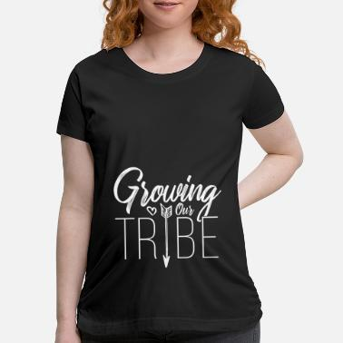 Tribe Maternity Pregnancy Pregnant Baby Tribe - Maternity T-Shirt