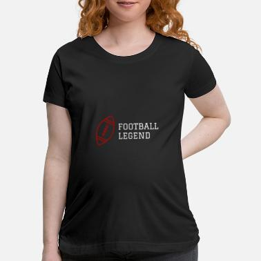 Rugby Quarterback Football Legend USA Sport Gameday Quarterback - Maternity T-Shirt