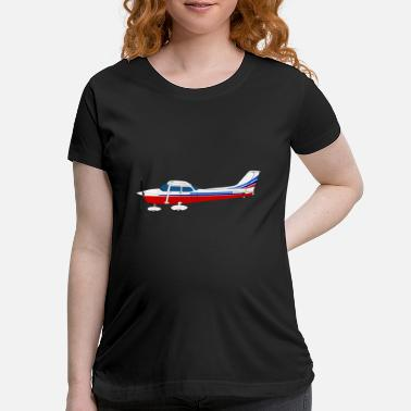 Workhorse airplane182 - Maternity T-Shirt