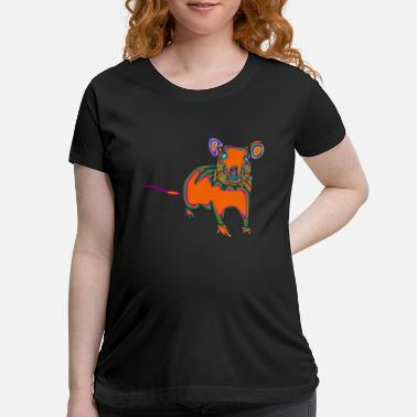 Mouse mouse - Maternity T-Shirt