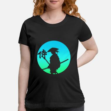 Samurai Samurai Japan - Maternity T-Shirt