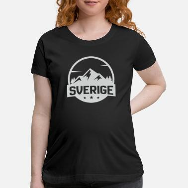 Sweden sweden mountains nature - Maternity T-Shirt