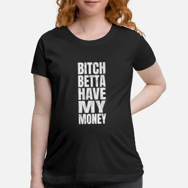 Rapper Pimp Gangster Rapper Hustler Player - Maternity T-Shirt