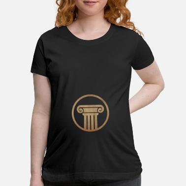 Ancient Ancient pillar - Maternity T-Shirt