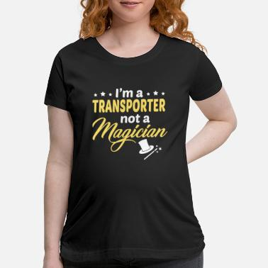 Transport Transporter - Maternity T-Shirt