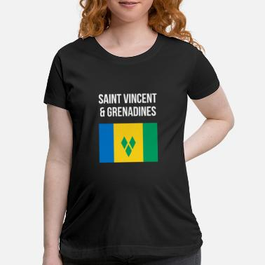 Saint Vincent And The Grenadines Saint Vincent and the Grenadines - Maternity T-Shirt